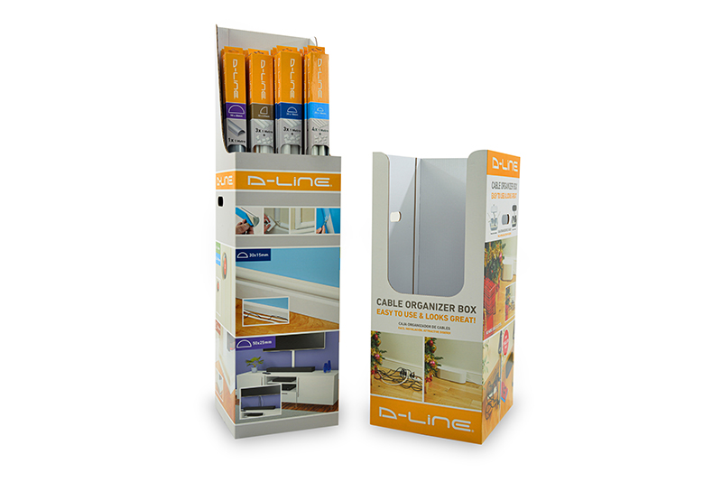 Packaging and Display Combination